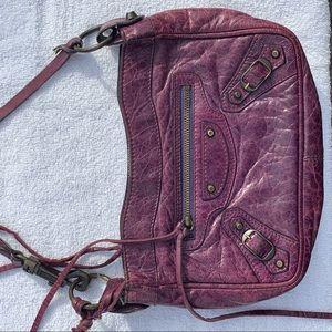 Rich lavender Balenciaga Hip bag! 💜☮️